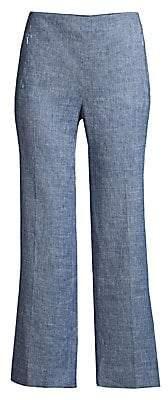 Elie Tahari Women's Leena Cropped Melange Pants - Size 0
