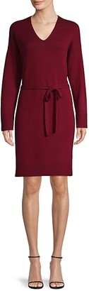 Vince Wool-Blend Knit Dress