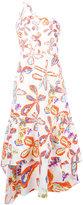 Peter Pilotto floral shift dress - women - Cotton/Spandex/Elastane - 10