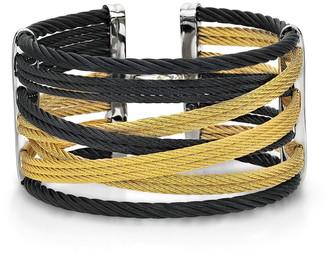 Alor Crisscross Cable & Diamond Bracelet - 0.01 ctw