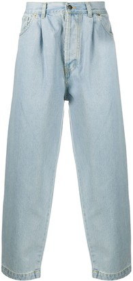 Societe Anonyme High-Waisted Straight Leg Jeans