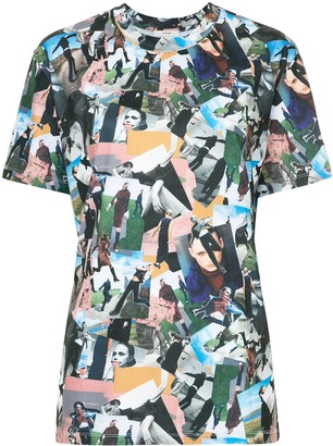 System woman print T-shirt