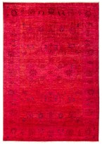 "Solo Rugs Vibrance Overdyed Area Rug, 6'1"" x 8'10"""