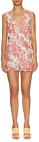 Lucca Couture Floral Ruffle Trimmed Romper