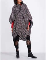 Junya Watanabe Checked wool dress