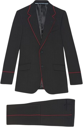 Gucci Heritage tuxedo with piping