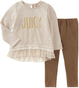 Juicy Couture Ribbed Tunic & Leggings Set