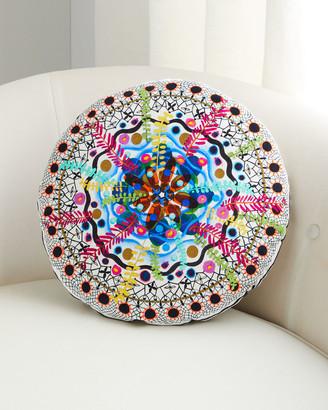 Christian Lacroix Rosetta Multicolored Pillow