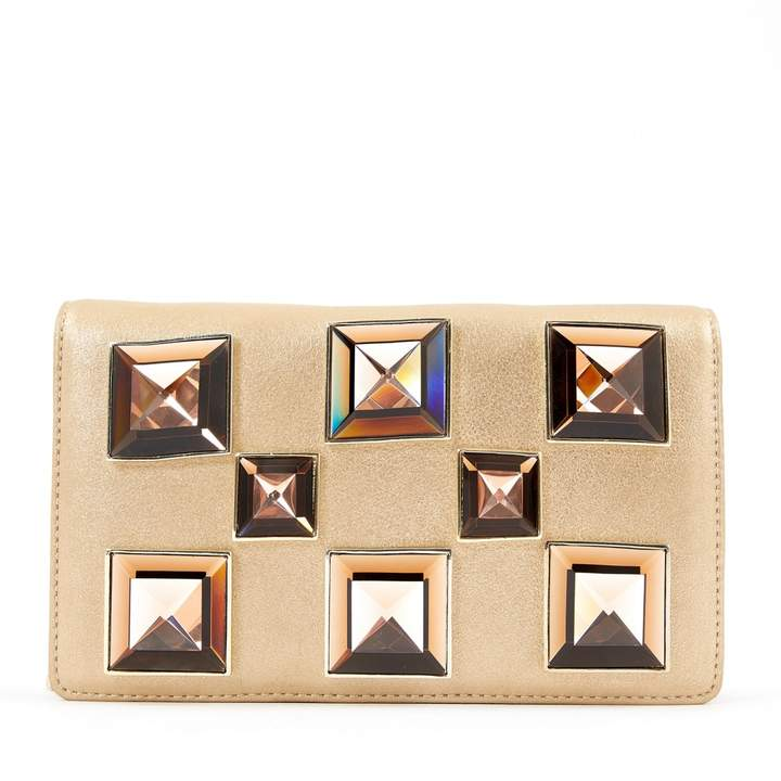 Versace Leather clutch bag