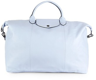 Longchamp Le Pliage Leather Travel Bag