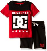 DC Baby Jersey Crew Neck Tee and French Terry Shorts