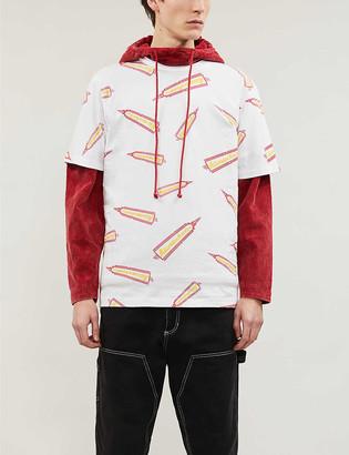 Billionaire Boys Club Rocket-print cotton-jersey T-shirt