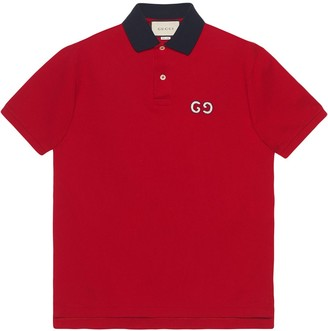 Gucci Polo with GG embroidery