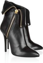 Giuseppe Zanotti Folded leather ankle boots