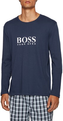 HUGO BOSS Relax Logo Cotton T-Shirt