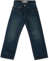 Levi's Little Boys' Slim 505 Regular Fit Jeans