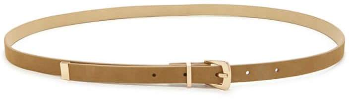 Forever 21 Skinny Faux Leather Belt