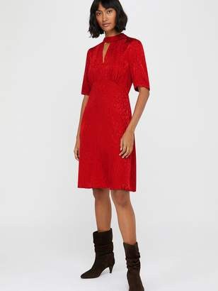 Monsoon Tia Jacquard Midi Dress
