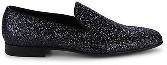 Magnanni Glitter Loafer Flats