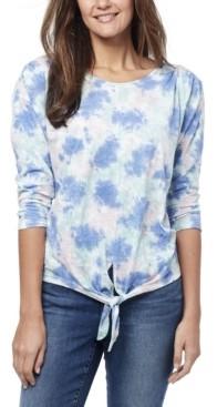 Nine West Women's Lottie Tie Dye T-shirt