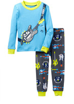 Petit Lem Long Sleeve Pajama Set (Little Boys)