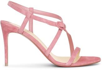Christian Louboutin Selima 85 pink sandals