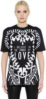 Givenchy Power Of Love Cotton Jersey T-Shirt