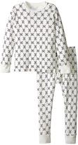 Nununu Super Soft Mini Skull Print Loungewear Set (Infant/Toddler/Little Kids)