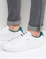 Puma Court Star Crafted Trainers In White 35997703