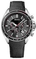 HUGO BOSS Men's Watch XL Driver Sport Chronograph Quartz Nylon 1513087