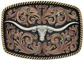 Montana Silversmiths Western Belt Buckle John Wayne A534T