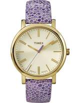 Timex Women's Originals Purple Pattern Easy Read Watch
