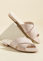 Continental Suede Sandal in 10