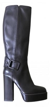 Bottega Veneta Brown Leather Boots