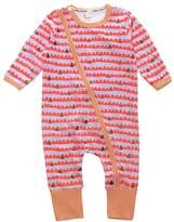 "Kids Tales ""Baby Girls"" Striped 1 Piece Pajamas Romper"