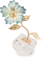 Alexis Bittar Crystal Accented Petal Charm Decorative Sculpture