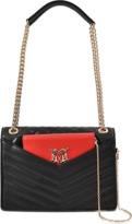 Love Moschino Detachable Clutch flap bag