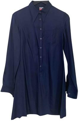 Lemaire Blue Silk Dresses