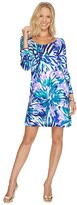Lilly Pulitzer Emma Dress (Capri Teal Off Tropic) Women's Dress