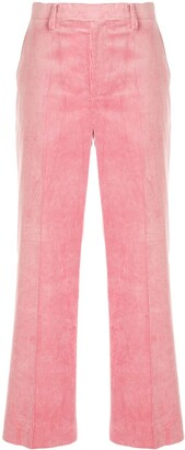 Undercover Flared Leg Corduroy Trousers