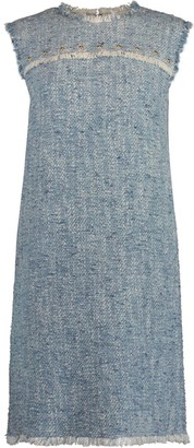 Escada Sport Damika Sleeveless Tweed Shift Dress