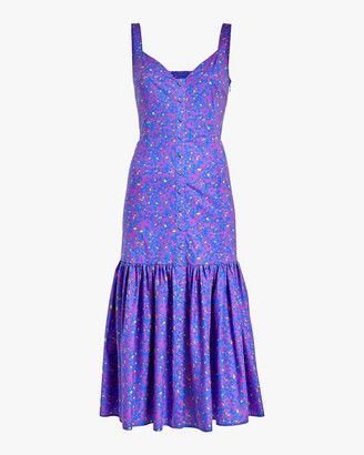 Tanya Taylor Calle Midi Dress