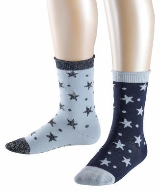 Esprit Girl's Dots & Stars Calf Socks