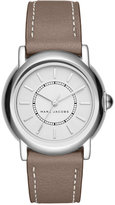Marc Jacobs Women's Courtney Cement Leather Strap Watch 34mm MJ1507