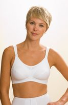 La Leche League International Mesh Support Softcup Bra - White - 38 C
