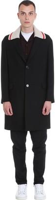 Lanvin Coat In Black Wool