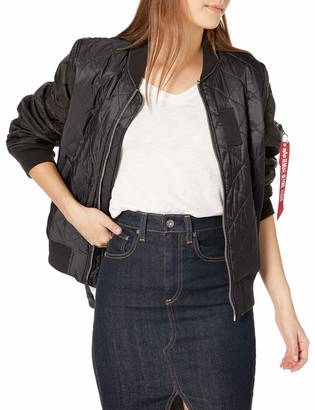 Alpha Industries Women's MA-1 Diamond