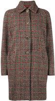 Ermanno Ermanno tweed check coat