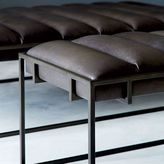 Fontanne Leather Ottoman - Rectangle
