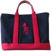 Polo Ralph Lauren Blue Cloth Handbags